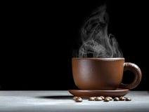 Het stomen van de Kop van de Koffie Royalty-vrije Stock Foto's