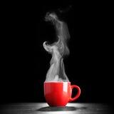 Het stomen van de Kop van de Koffie Royalty-vrije Stock Fotografie