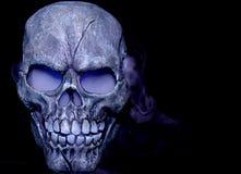 Het stomen van schedel royalty-vrije stock foto