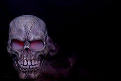 Het stomen van schedel Royalty-vrije Stock Foto's