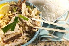 Het Stootkussen Thai van de kip stock foto