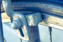 Het stootkussen van de fietsrem Stock Afbeeldingen