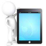Het Stootkussen van de tablet. vector illustratie