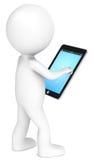 Het Stootkussen van de tablet. stock illustratie