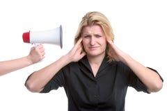 Het stoppen van oren Stock Fotografie
