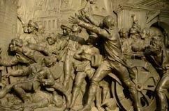 Het stormen van Bastille Stock Afbeeldingen
