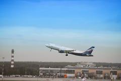 Het straal opstijgen van Airflot Royalty-vrije Stock Fotografie
