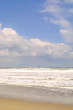 Het strand Stock Afbeeldingen