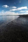 Het strand Royalty-vrije Stock Afbeeldingen