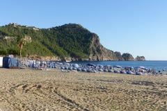 Het strand Alanya van Cleopatra Royalty-vrije Stock Afbeelding