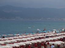 Het strand algemene mening van Savona Royalty-vrije Stock Foto's