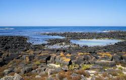 Het strand Australië van Port Fairy royalty-vrije stock foto's