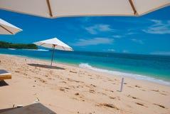 Het Strand Balangan, Indonesië, Bali Stock Foto's