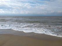 Het strand Brugge België van Noordzeemonroe stock afbeeldingen