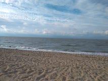 Het strand Brugge België van Noordzeemonroe royalty-vrije stock afbeelding