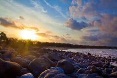 Het Strand Bundaberg Queensland Australië van Monrepos Royalty-vrije Stock Fotografie