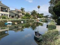Het Strand Californië van Venetië Stock Afbeeldingen