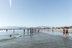 Het Strand Californië van Venetië Stock Foto's