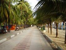 Het Strand Chonburi Thailand van klapsaen Royalty-vrije Stock Fotografie