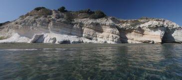 Het strand Cyprus van de gouverneur Stock Afbeeldingen