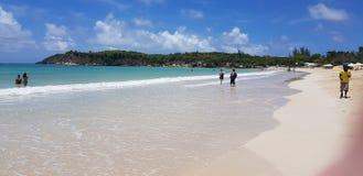 Het strand Dominicaanse republiek van Macao royalty-vrije stock afbeelding