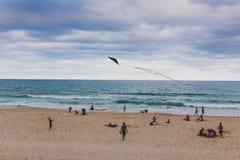 Het strand en het landschap in Surfersparadijs op de Gouden Kust Royalty-vrije Stock Foto's