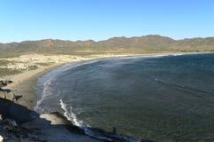 Het strand en overzees-Spanje van Genoveses Stock Foto
