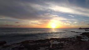 Het strand en het overzees van de Dominicaanse Republiek stock videobeelden