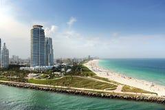 Het Strand Florida van Miami Stock Afbeeldingen