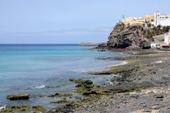 Het strand Fuerteventura van Jable van Morro Stock Afbeelding