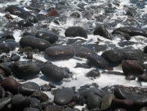 Het strand Hawaï van de lava   Royalty-vrije Stock Foto