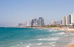 Het strand Jaffa Israël van Tel Aviv stock afbeelding