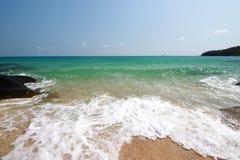 Het strand, Koh samet Thailand Stock Foto