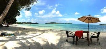 Het strand Koh Samui Thailand van het paradijseiland Royalty-vrije Stock Foto's