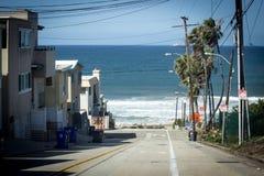Het Strand Los Angeles Californië van Manhattan Royalty-vrije Stock Afbeeldingen