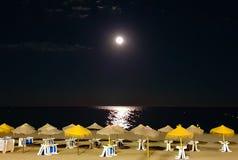 Het strand Malaga van Spanje Stock Fotografie