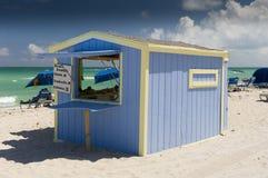 Het Strand Miami Florida van Miami Stock Afbeelding