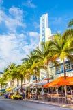 Het strand Miami van het zuiden Royalty-vrije Stock Afbeeldingen