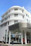 Het Strand Miami van het Zuiden van het art deco Royalty-vrije Stock Afbeelding