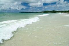 Het strand op Samed-Eiland in Thailand Royalty-vrije Stock Afbeelding