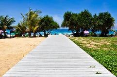 Het Strand Phuket Thailand van Karon op April 2010 Royalty-vrije Stock Fotografie