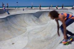 Het Strand Skatepark van Venetië Stock Foto
