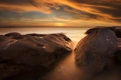 Het strand Sydney, Australië van La perouse Royalty-vrije Stock Afbeeldingen