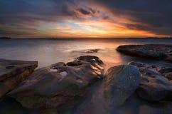 Het strand Sydney, Australië van La perouse Stock Afbeeldingen
