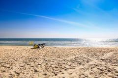 Het strand in Thailand Stock Foto