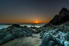 Het strand van Adraga Royalty-vrije Stock Foto