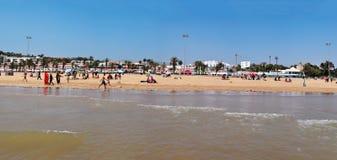 Het strand van Agadir Stock Afbeelding
