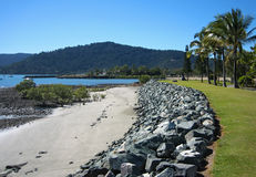 Het Strand van Airlie, Queensland Stock Foto