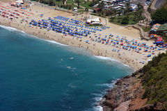 Het Strand van Alanya Stock Afbeelding
