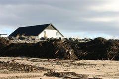 Het strand van Alfta Stock Foto's